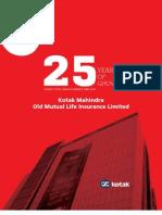 Kotak Mahindra Old Mutual Life Insurance Ltd