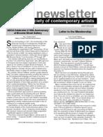 Newsletter 33 WINTER 2008
