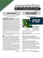 Newsletter 34 SPRING 2009