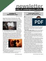 Newsletter 38 SPRING 2010