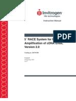 5' Race System Manual