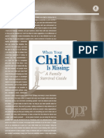 Family Survival - When Your Child Goes Missing