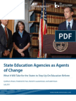 State Education Agencies as Agents of Change