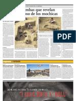 Descubren Tumbas Que Revelan Origen y Colapso de Los Mochicas