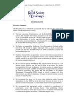 Draft Marine Bill Executive Summary