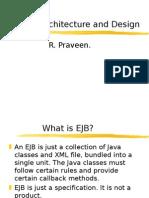 Praveen EJB Architecture