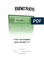 Creer Son Template Joomla 1.5 Annexes by CEd