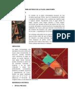 INFORME HISTÓRICO DE LA PLAZA LIMACPAMPA