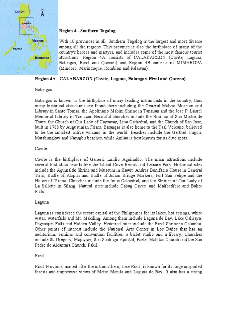 Region 4 | Philippines | Religion And Belief