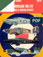 Aircam №24 Hawker Hurricane MK.I-IV