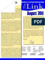 August 2011 LINK Newsletter