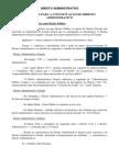 DIREITO ADMINISTRATIVO - CRITÉRIOS PARA A CONCEITUAÇÃO DO DIREITO ADMINISTRATIVO