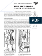 English Civil Wars-soldiers,Armours and Weapons Teachers Notes