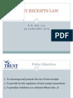 Trust Receipts Law