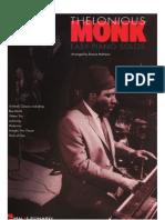Thelonious Monk Easy Piano Solos Jazz Sheet Klavier Noten 300dpi by Schnorri