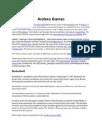 Arafura Games