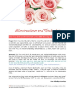 Menstruation En Und Wochenbett