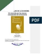 Los Lenguajes De La Economía - Elies Furio Blasco