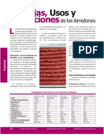 usos almidones