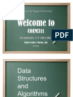 Introducing Data Structures and Algorithms