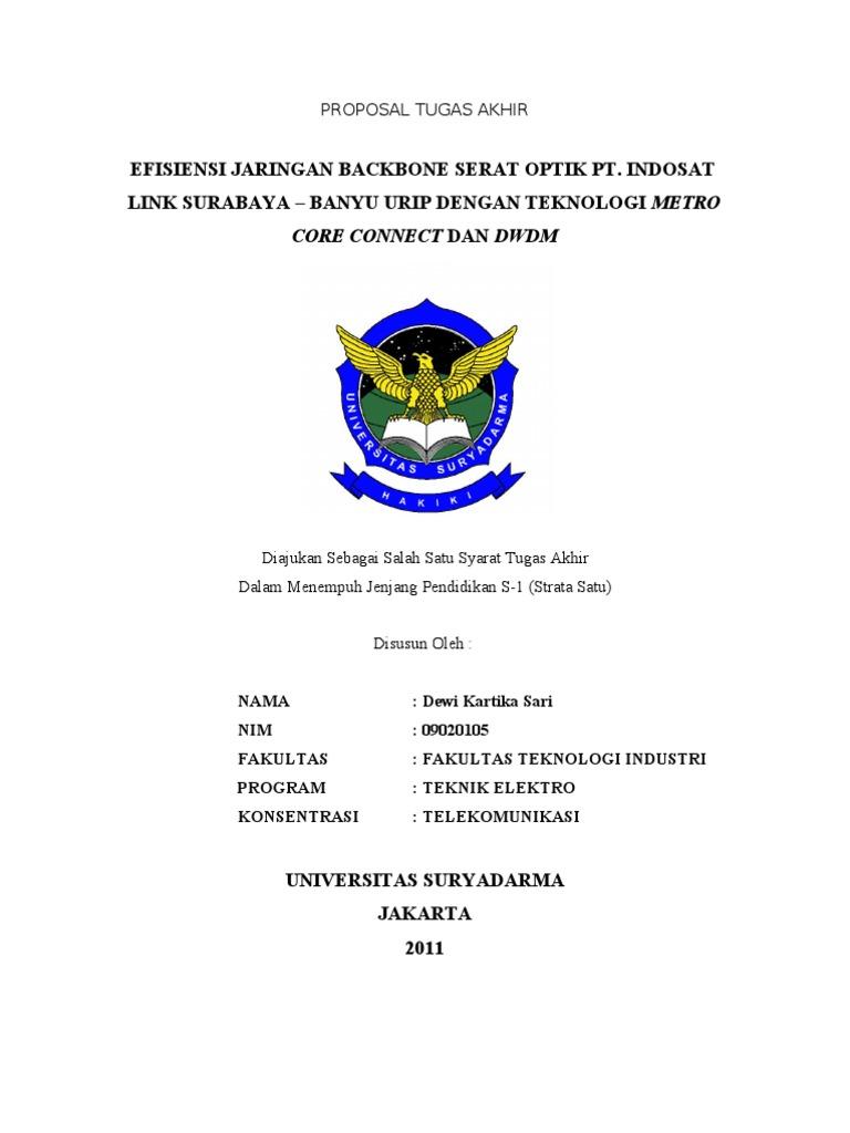 Proposal Skripsi Teknik Elektro Ide Judul Skripsi Universitas