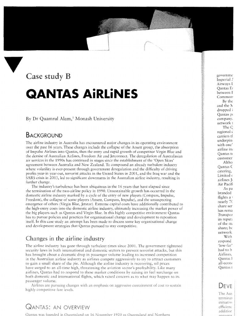 Qantas Office     adoption case study   GreenDot Consulting Campus Travel    Corporate Social Responsibility Qantas is likely not the best case study