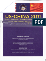 US-China 2011 Trade, Education & Culture Conf.brochure