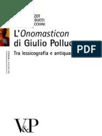l'Onomasticon Di Giulio Polluce
