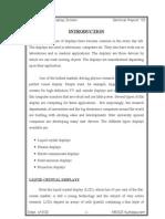 Field Emission Display Screen Seminar Report
