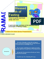 Ramadan for Body and Soul