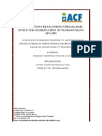 ACF Audit Report Reviewed With ACF Response