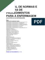 Manual de Normas e Enfermagem