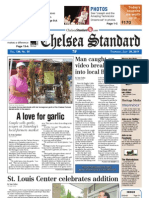 Chelsea Standard Front Page July 28