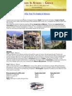 2-Day Tour to Delphi & Meteora