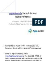 AgileSwitch IGBT Driver Requirements