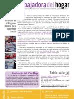Boletin número 1 de las trabajadoras de hogar en España