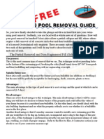 Pool Removal eBook