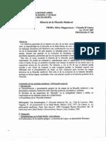 Teóricos desgrabados Historia de la Filosofía Medieval 2007