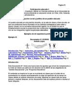 Educacion Participación educada Parte 2 Antolin Lopez