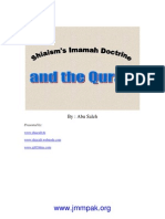 Shiaism's Imamah Doctrine and the Quran
