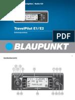 Blaupunkt-Travelpilot e1 User Manual
