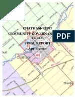 CK Community Governance Task Force final report