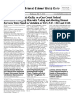 July 27, 2011 - The Federal Crimes Watch Daily