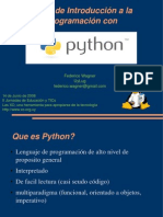 Taller de Introduccion a la programacion Python