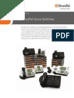 Shoretel Voice Switches Spec