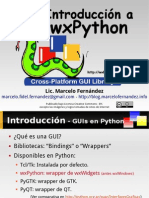 Introduccion a wxPython