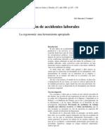 Ergonomia en Prev Encion Acc
