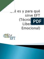 Que Es y Para Que Sirve EFT