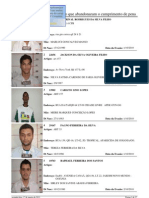 Foragidos 01-10-2010 a 17-01-2011