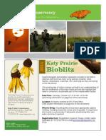 2011 Katy Prairie Bioblitz